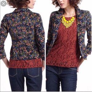 Anthropologie - Cartonnier velvet blazer jacket
